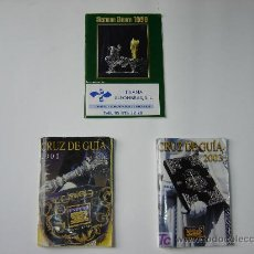 Carteles de Semana Santa: LOTE DE 3 PROGRAMAS DEL ITINERARIO DE LA SEMANA SANTA DE SEVILLA DE LOS AÑOS 1998, 2001, 2003. Lote 9822099