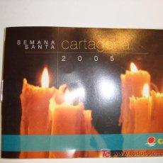 Carteles de Semana Santa: SEMANA SANTA, CARTAGENA 2005 ITINERARIO. Lote 11627932