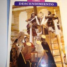Carteles de Semana Santa: CADIZ, DESCENDIMIENTO, VIERNES SANTO (MADRUGADA), SEMANA SANTA. Lote 11658594