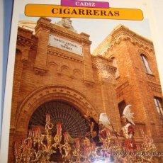 Carteles de Semana Santa: CADIZ, CIGARRERAS, MIERCOLES SANTO, SEMANA SANTA. Lote 11658675