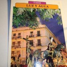 Carteles de Semana Santa: CADIZ, LUZ Y AGUA, MIERCOLES SANTO, SEMANA SANTA. Lote 11658827
