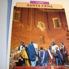 Carteles de Semana Santa: CADIZ, SANTA CENA, DOMINGO SANTO, SEMANA SANTA. Lote 11659026