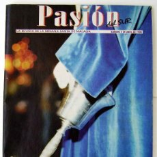 Carteles de Semana Santa: REVISTA DIARIO SUR SEMANA SANTA DE MALAGA AÑO 1998 CON 126 PAGINAS LEER DESCRIPCION. Lote 244633030
