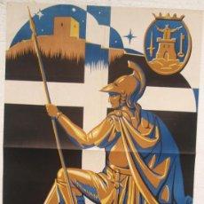 Carteles de Semana Santa: CARTEL SEMANA SANTA LORCA 1949 MURCIA LITOGRAFIA ORIGINAL. Lote 25579527