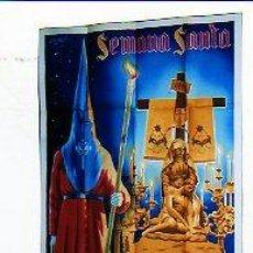 Carteles de Semana Santa: CARTEL DE SEMANA SANTA. CREVILLENTE 1945. ALICANTE. ILUSTRADOR DONAT. IMP. Y LIT. ORTEGA VALENCIA. . Lote 25060562