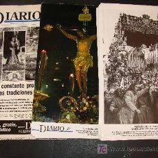 Carteles de Semana Santa: COLECCIÓN 100 FOTOGRAFÍAS ANTIGUAS Y MODERNAS DE LA SEMANA SANTA DE MÁLAGA. 1995. DIARIO 16. . Lote 20989498