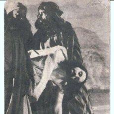 Carteles de Semana Santa: LA PASSIÓ OLESA DE MONTSERRAT 1957. Lote 23854714