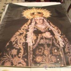 Carteles de Semana Santa: CARTEL SEMANA SANTA CADIZ GRAN FORMATO, 79 CM LARGO. Lote 21942200