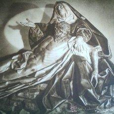 Carteles de Semana Santa: HUECOGRABADO - IMAGEN DE LA PIEDAD - . FOURNIER. VITORIA - ANTIGUO - SEMANA SANTA VALLADOLID. Lote 50069455