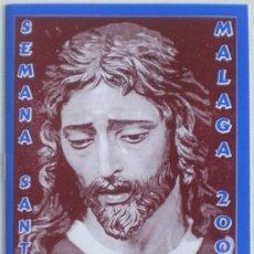 Carteles de Semana Santa: ITINERARIO SEMANA SANTA MALAGA AÑO 2003. Lote 24743248