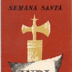 Carteles de Semana Santa: SEMANA SANTA REUS 1963. Lote 26863945