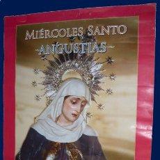 Carteles de Semana Santa: CARTEL SEMANA SANTA - MIERCOLES SANTO - ANGUSTIAS - SAN ROQUE 2009 - CADIZ. Lote 27129368