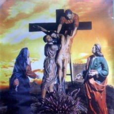 Carteles de Semana Santa: JUMILLA. MURCIA. SEMANA SANTA 2002. 68'5 X 49'5 CM.. Lote 27787751