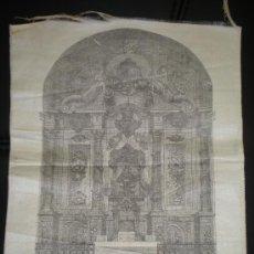 Carteles de Semana Santa: IMAGEN EN SEDA DE LA SRA. DE LA SALUD DE BARBATONA SIGÜENZA GUADALAJARA RELIGION. Lote 28441489