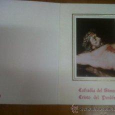 Carteles de Semana Santa: SEMANA SANTA MURCIANA FOTOGRAFIA CRISTO COFRADIA DEL STMO. CRISTO DEL PERDON MURCIA. Lote 28916514