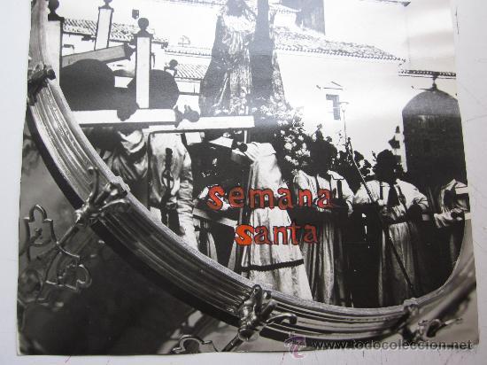Carteles de Semana Santa: HELLIN, ALBACETE - NO ES CARTEL IMPRESO, ORIGINAL DE LA LITOGRAFIA ORTEGA VALENCIA - AÑO 1972 - Foto 6 - 29448432