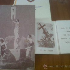 Carteles de Semana Santa: SEMANA SANTA MURCIANA COFRADIA DEL RESUCITADO DOMINGO RESURRECION MURCIA . Lote 29461201