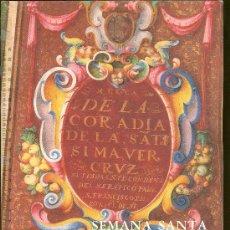 Carteles de Semana Santa: OBRA GRAFICA DEDICADA A LA SEMANA SANTA DE SEVILLA. LOS GREMIOS. Lote 29567631