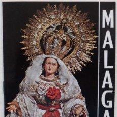 Carteles de Semana Santa: ITINERARIO SEMANA SANTA DE MALAGA AÑO 1967. Lote 29795343