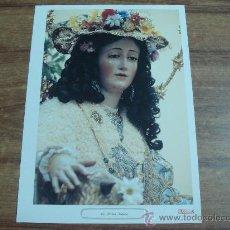 Carteles de Semana Santa: LAMINA.-LA DIVINA PASTORA.-CAPILLA DE LA DIVINA PASTORA,COLLACION DE SAN PEDRO.-VER FOTO.-. Lote 30291862
