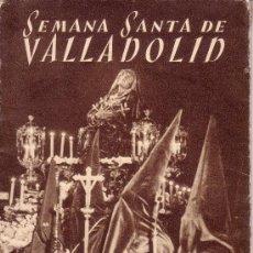 Carteles de Semana Santa: SEMANA SANTA DE VALLADOLID - PROGRAMA DE LAS COFRADIAS DEL AÑO 1956 - VER ADICIONALES. Lote 30568122