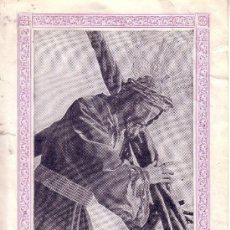 Carteles de Semana Santa: SEMANA SANTA DE SEVILLA - CONVOCATORIA DE CULTOS DE NTR. PADRE JESUS DE LA PASION 1924 - 16X21 CM. Lote 30854734