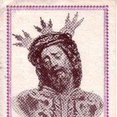 Carteles de Semana Santa: SEMANA SANTA DE SEVILLA - CONVOCATORIA DE CULTOS DE NTR. PADRE JESUS DE LA PASION 1926 - 16X21 CM. Lote 41711156