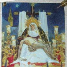 Carteles de Semana Santa: CARTEL SEMANA SANTA. SEVILLA 2004. 70 X 47 CM.. Lote 31870440