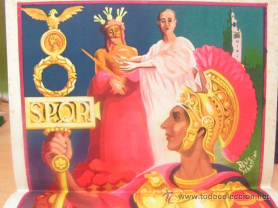 Carteles de Semana Santa: + Sevilla. Semana Santa 1951 Cartel 32 x 49,5 original Pablo Sebastian Litografía Ventura Hita - Foto 5 - 31891575