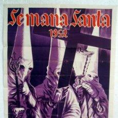 Carteles de Semana Santa: CARTEL SEMANA SANTA , ALICANTE 1952 , LITO , ILUSTRADOR NUÑEZ , PAPEL , ORIGINAL. Lote 31909312