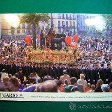 Carteles de Semana Santa: SEMANA SANTA DE MALAGA EL DIARIO COFRADIA DE LA POLLINICA AÑOS 90. Lote 31930898