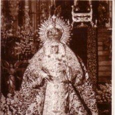 Carteles de Semana Santa: SEMANA SANTA SEVILLA - ESTAMPA FOTOGRAFICA PRIMER ANIVERSARIO CORONACION - ESPERANZA MACARENA 1965. Lote 32032891