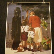 Carteles de Semana Santa: CARTEL SEMANA SANTA DE MÁLAGA 2000. Lote 32169940