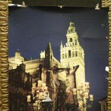 Carteles de Semana Santa: CARTEL SEMANA SANTA SEVILLA - AZAHAR 92. Lote 32194903