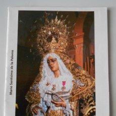 Carteles de Semana Santa: ITINERARIO SEMANA SANTA MALAGA AÑO 2003. Lote 32360267