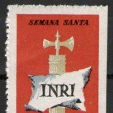 Carteles de Semana Santa: REUS - VIÑETA - SEMANA SANTA - AÑO 1963. Lote 32485189