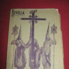 Carteles de Semana Santa: RARISIMO PROGRAMA DE SEMANA SANTA DE 1940 - EDITORIAL SEVILLANA . Lote 33241882