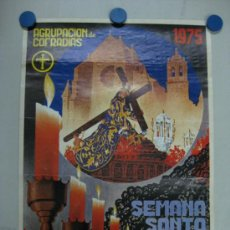 Carteles de Semana Santa: CORDOBA - SEMANA SANTA - OFSSET - AÑO 1975 - RICARDO ANAYA. Lote 33479561