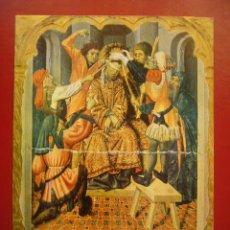 Carteles de Semana Santa: PROGRAMA PRINCIPALES ACTOS SEMANA SANTA TARRAGONA 1963. Lote 33551486
