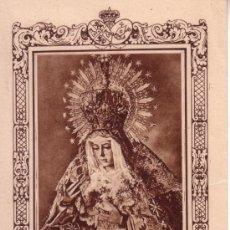 Affiches de Semaine Sainte: SEMANA SANTA SEVILLA - ESTAMPA ANTIGUA DE LA ESPERANZA MACARENA. Lote 34035466