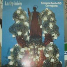 Carteles de Semana Santa: CARTAGENA. SEMANA SANTA 1990. Lote 34188961