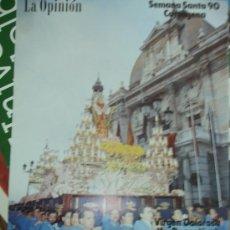 Carteles de Semana Santa: CARTAGENA. SEMANA SANTA 1990. Lote 34188972