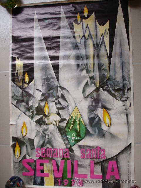 CARTEL SEMANA SANTA SEVILLA 1978 (Coleccionismo - Carteles Gran Formato - Carteles Semana Santa)