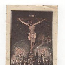 Carteles de Semana Santa: PROGRAMA SEMANA SANTA DE MADRID, 1942. HERMANDAD DE CRUZADOS DE LA FE.. Lote 36369078