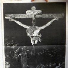 Carteles de Semana Santa: CARTEL SEMANA SANTA , SEVILLA 1962 , ILUSTRADOR HARETON , ORIGINAL, A. Lote 36615493