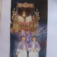 Carteles de Semana Santa: MALAGA , SEMANA SANTA CARTEL MIERCOLES SANTO 2005. Lote 37078780
