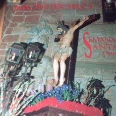 Carteles de Semana Santa: SEMANA SANTA MONTORO 1990. Lote 37946665