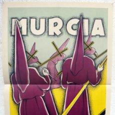 Carteles de Semana Santa: CARTEL SEMANA SANTA DE MURCIA 1959 , ORIGINAL , LITOGRAFIA. Lote 38403042