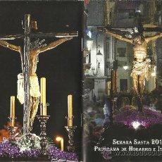 Carteles de Semana Santa: PROGRAMA SEMANA SANTA EN TARIFA(CADIZ) 2013. 25 PAGINAS.. Lote 38525876