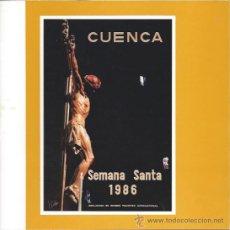 Carteles de Semana Santa: PROGRAMA SEMANA SANTA CUENCA 1986. Lote 59157397